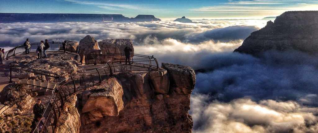 Grand Canyon National Park Cloud Inversion
