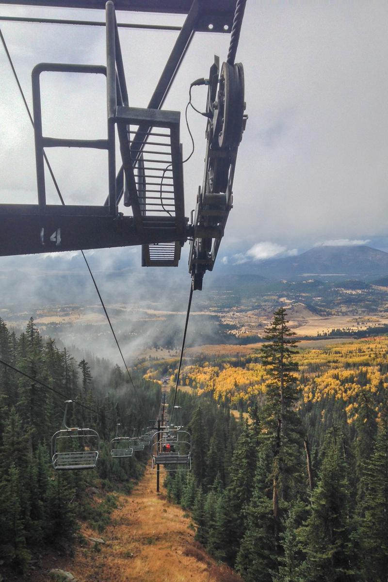 ski-lift-snowbowl-flagastaff-fall